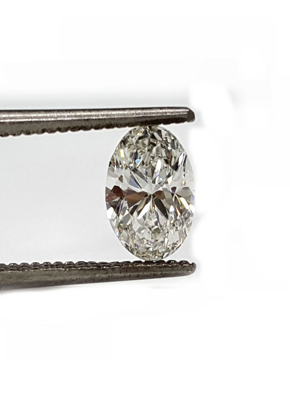 Oval diamond 74pts. K VS2 quality