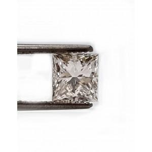 Princess cut diamond 71pts. I VS2 quality