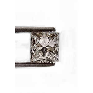 47pt. Princess cut diamond J SI1 quality.