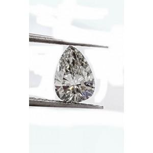 Pear Shape Diamond 90pts. F VS2 quality GIA CERTIFIED