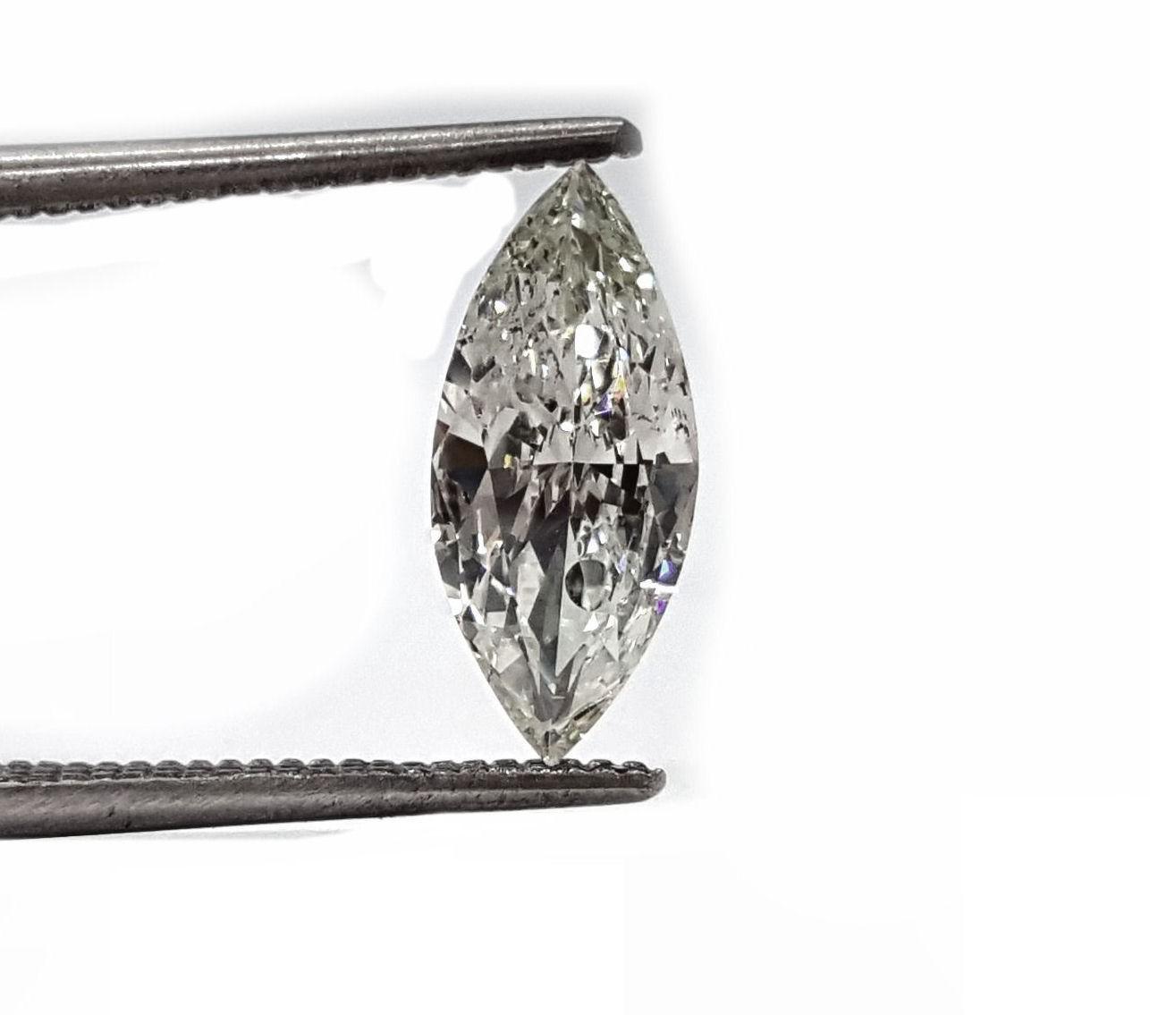 1.17ct. marquise diamond J SI2 quality