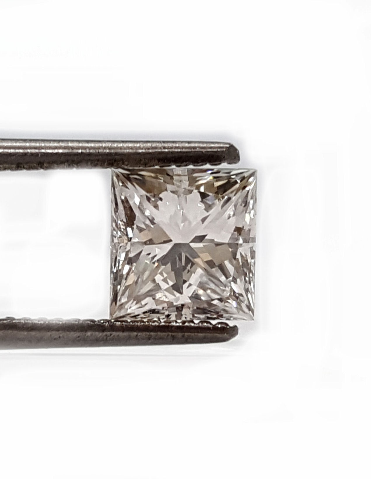 Princess cut diamond 71pts. I VS2 quality