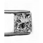 Princess Cut Diamond 62pts. G SI2 GIA Certified